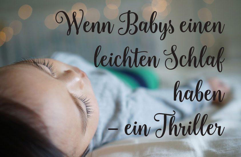 Baby schläft schlecht