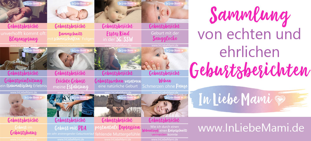 12 zwölf spannende Geburtsberichte Sammlung