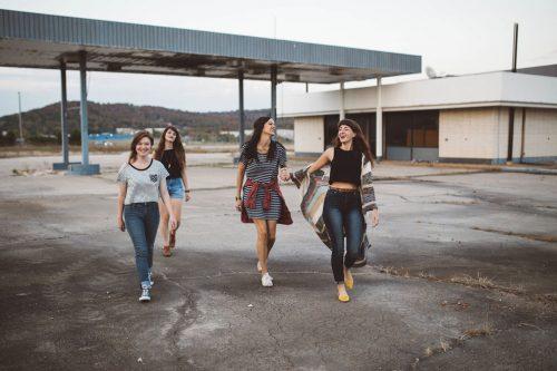 Mädchen Teenager