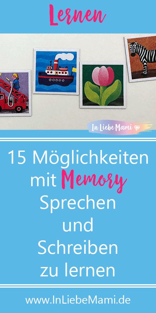 15 Möglichkeiten mit Memory Sprechen und Schreiben zu lernen
