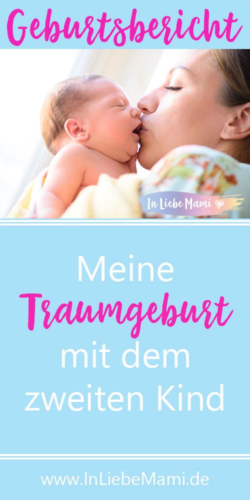 Traumgeburt beim zweiten Kind, zweite Geburt leichter, Geburtsbericht, Erfahrungen