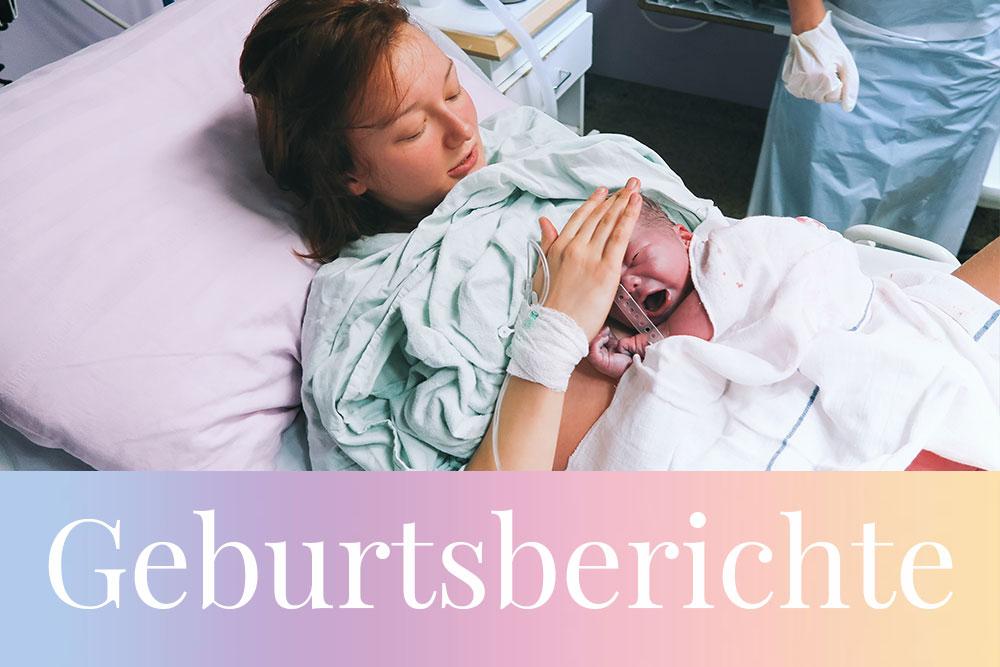 Geburtsberichte Sammlung