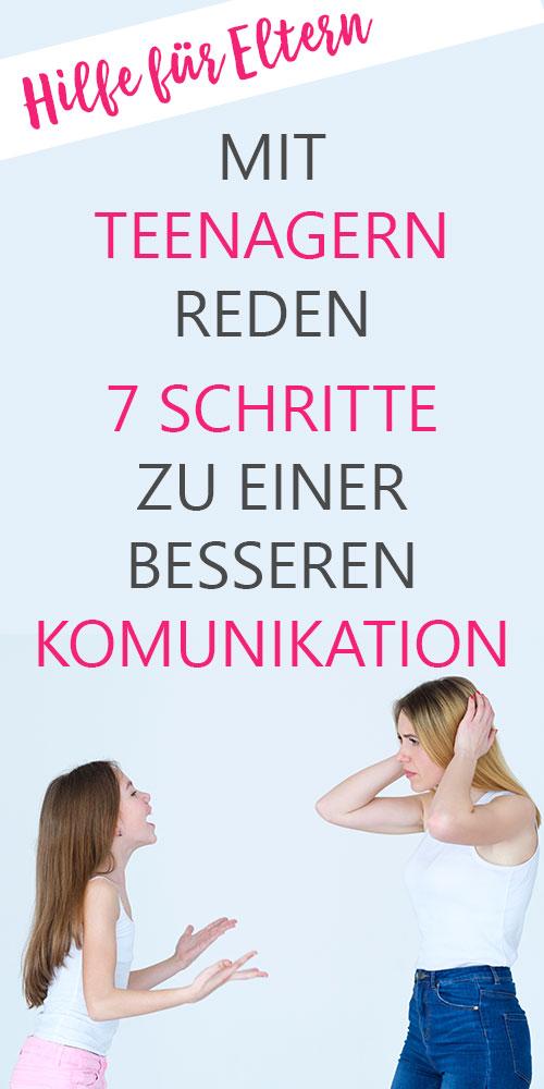 Mit Teenagern reden - 7 Schritte zu einer besseren Kommunikation. Aktives Zuhören bei Kindern, Jugendlichen und Teenagern. Bessere Kommunikation. Bessere Beziehung zwischen Eltern und Kind. Teil 1 Intensiver Augenkontakt