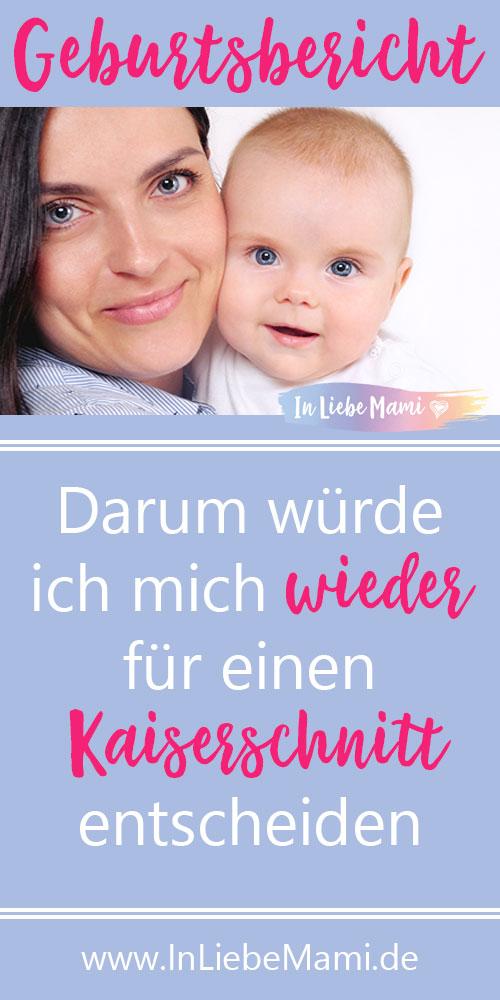 Kaiserschnitt erfahrung Geburtsbericht positive Erfahrung